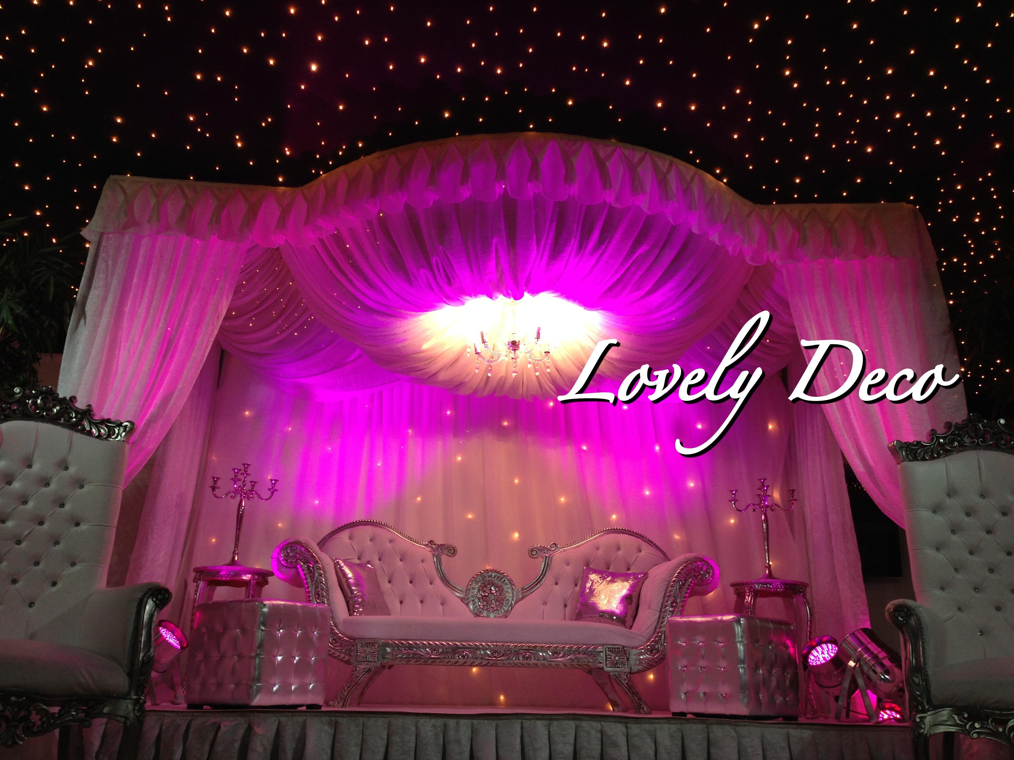 Lovely deco d corateur de votre mariage oriental for Decoration salle de reunion